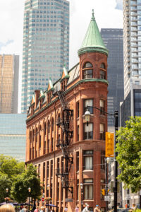 The Gooderham Building - one of the first buildings built in Toronto, then called York.