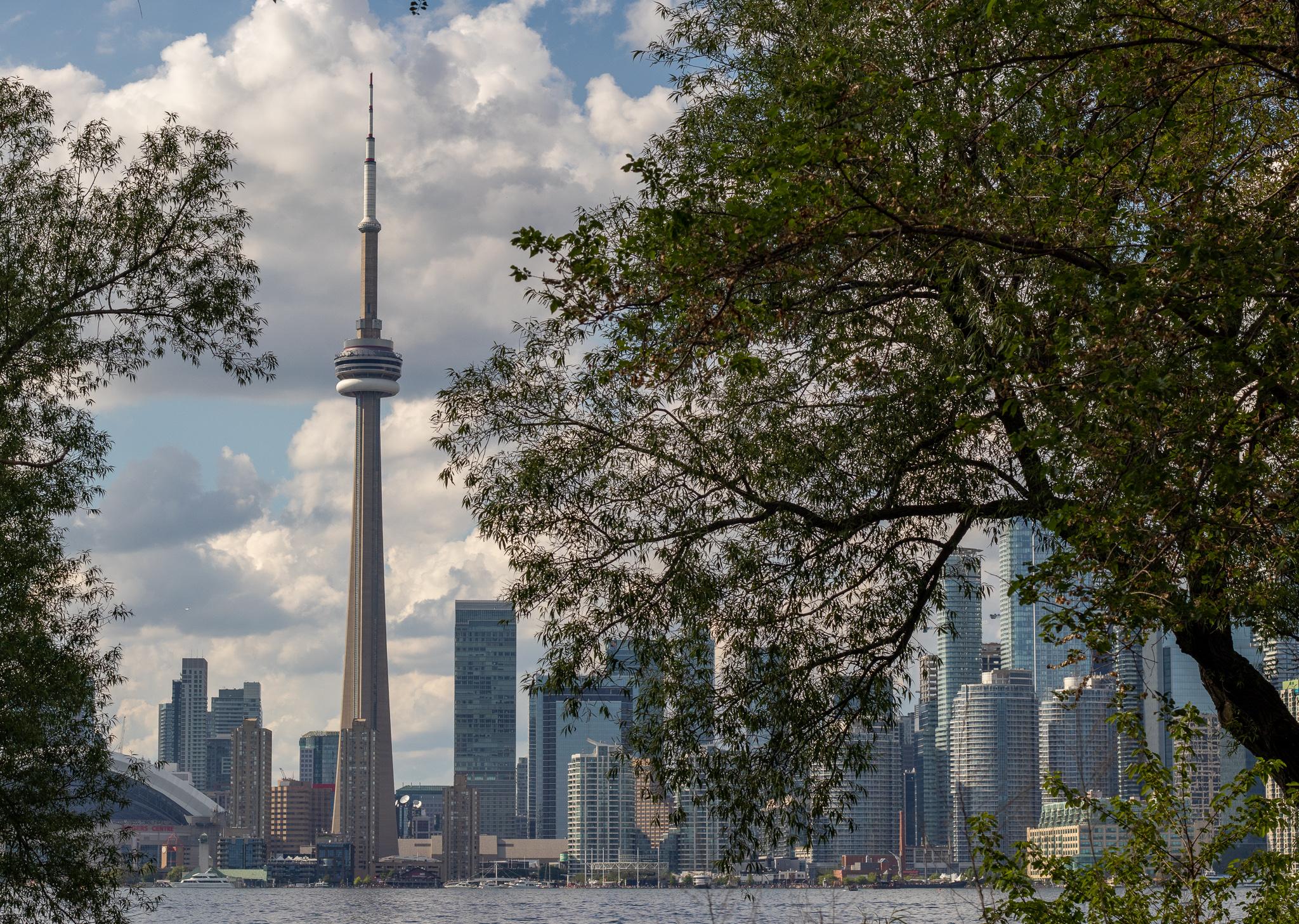 Von den Toronto Islands aus haben Besucher einen wundervollen Blick auf die Metropole.