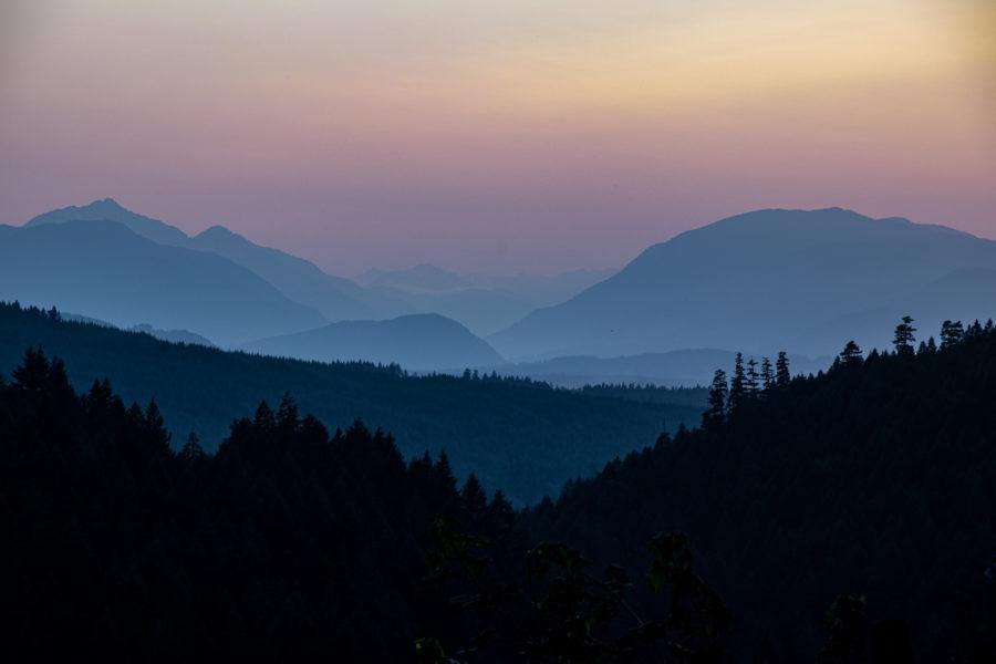 Die schönsten Sonnenuntergänge habe ich auf Vancouver Island gesehen.