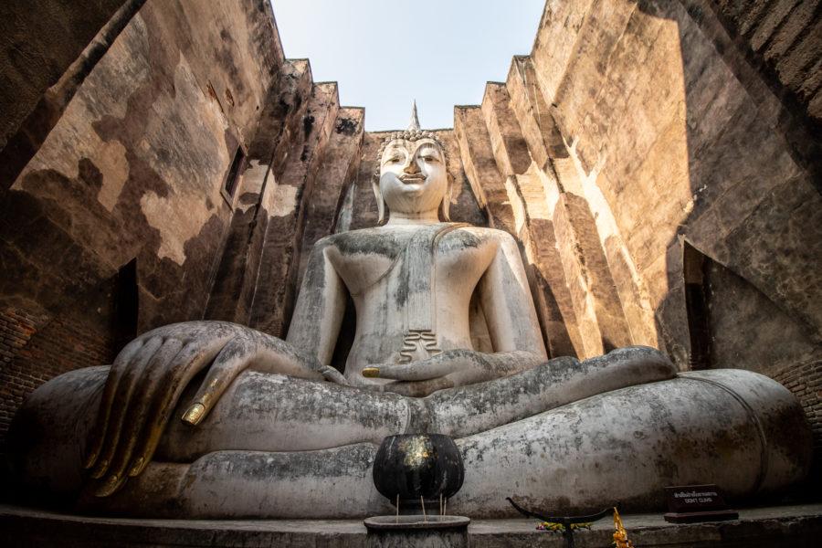 Wat Sri Chum - für mich der friedlichste Ort auf der Erde.