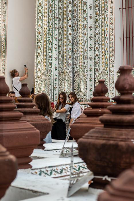 Der Wat Arun-Tempel in Bangkok ist der Selfie-Spot schlechthin.